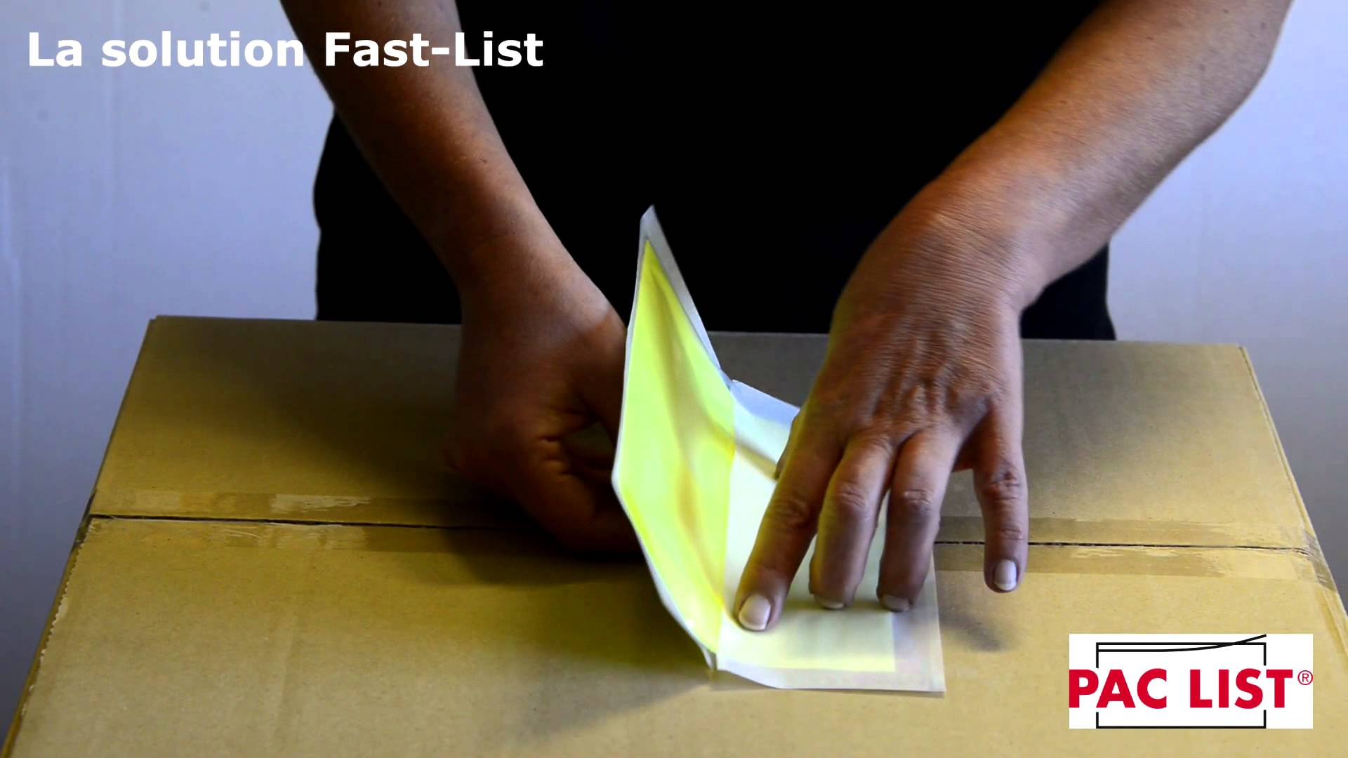 Pochette documents Fast List