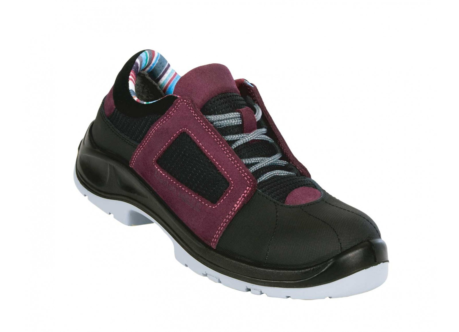 Air Lace Lady Aubergine